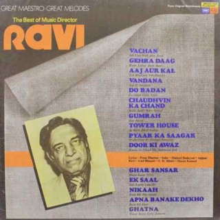 Ravi The Best Of Music Director - MFPE 1042 - LP Record