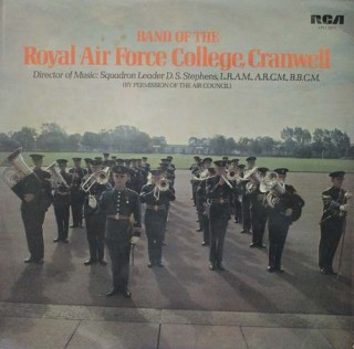 Royal Air College Cranwell - Band Of The - LFL1 5070 - LP Record