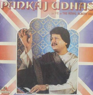 Pankaj Udhas - Live At The Royal Albert Hall - 2675 527 - (Condition - 80-85%) - 2LP Set