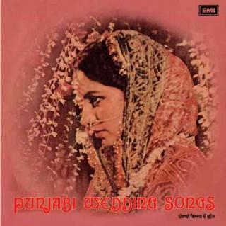 Punjabi Wedding Songs - ECLP 25006 - LP Record