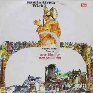 Hazara Singh Ramta - Ramta Africa Wich - ECLP 3052 - LP Record