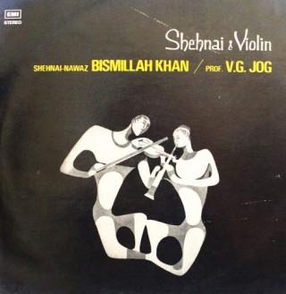 Bismillah Khan & V. G. Jog - EALP 1322 - LP Record