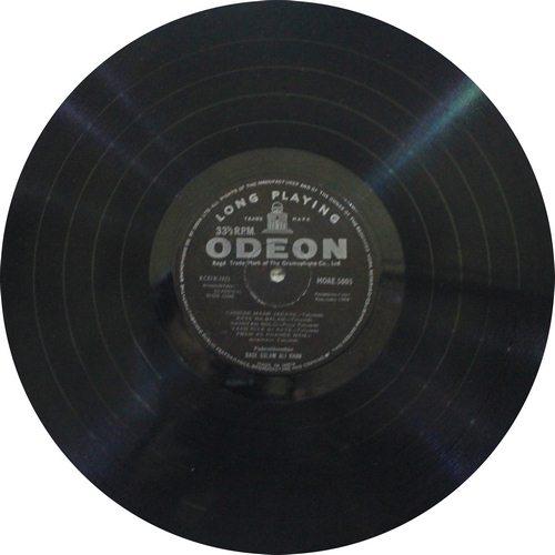 Bade Ghulam Ali Khan - MOAE 5005 - LP Record