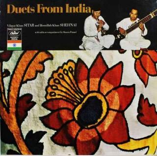 Vilayat Khan & Bismillah Khan - Duets From India - ST 10483 - LP Record