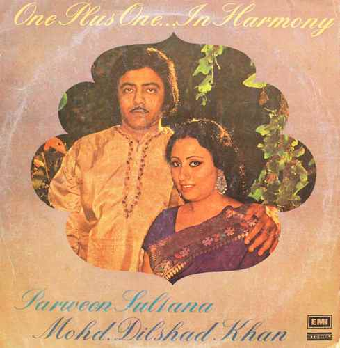 Parween Sultana & Mohd Dilshad Khan -  ECSD 2802 - LP Record