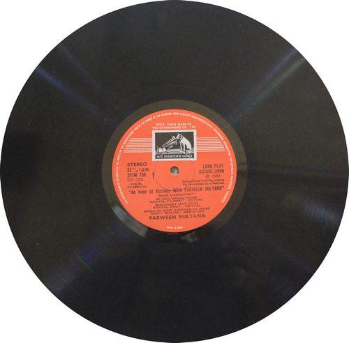 Parween Sultana - ECSD - 2950 - LP Record