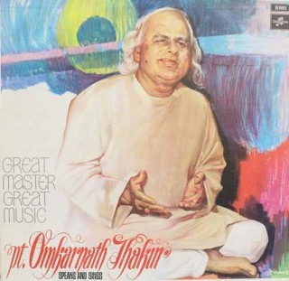 Omkarnath Thakur - 33 ECX 3303 - LP Record