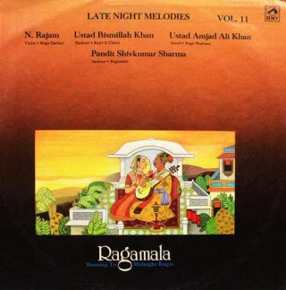 Ragamala - Morning To Midnight Ragas - Vol. 11 - PSLP 3011 - LP Record