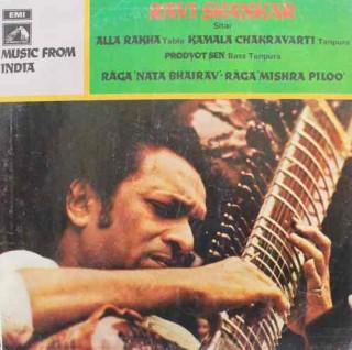 Ravi Shankar - EASD 1356 - LP Record