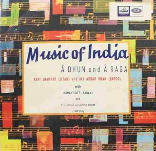 Music of India - EALP 1251 - HMV Red Label - LP Record