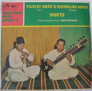 Vilayat Khan & Bismillah Khan - ASD 2295 - LP Record