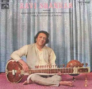 Ravi Shankar – EASD 1502 - HMV Colour Label - LP Record