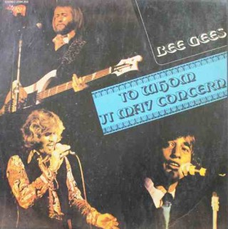 Bee Gees - To Whom It May Concern - 2394 203- LP Record