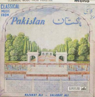 Classical Music From Pakistan - Nazakat Ali & Salamat Ali - CLP 1308 - HMV Black Label -LP Record