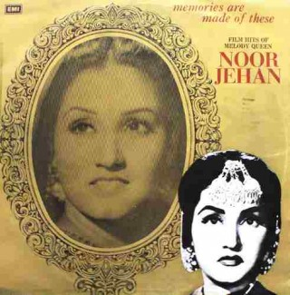 Noor Jehan - Flim Hits Of Melody Queen - ECLP 5595 - (Condition - 85-90%) - LP Record