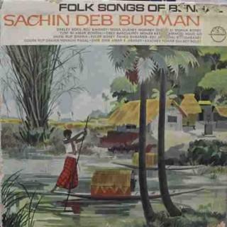 Sachin Dev Burman - (Bengali Song) - LHX 14 - LP Record