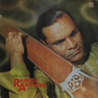 Rasiklal Andharia - ECSD 2991 - LP Record