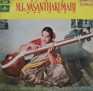 M. L. Vasanthakumari - S/33ESX 6039 - LP Record