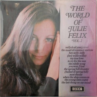 Julie Felix - Vol. 2 - The World Of - PA. 76