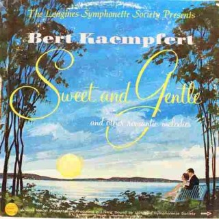 Bert Kaempfert - Sweet and Gentle - LWS 304- LP Record