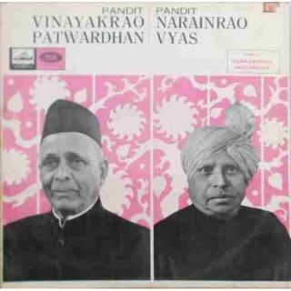 Vinayakrao Patwardhan & Narayanrao Vyas EALP 1314 - HMV Red Label