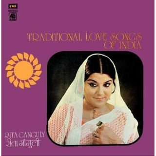 Rita Ganguly - Traditional Love Songs Of India - S/45NLP 4008 - LP Record