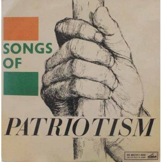 Songs Of Patriotism - Bengali Tagore Songs - ECLP 2280 - HMV Red Label - LP Record
