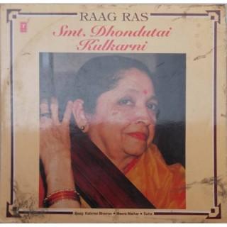Dhondutai Kulkarni - Raag Ras - SHNLP 01/16 - LP Record