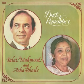 Talat Mahmood & Asha Bhosle - Duets To Remember - ECLP 5974 - (Condition 90-95%) - Cover Reprinted - LP Record