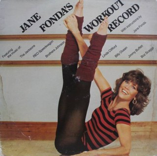 Jane Fonda's Workout Record - AL 38056 (2LP Set)