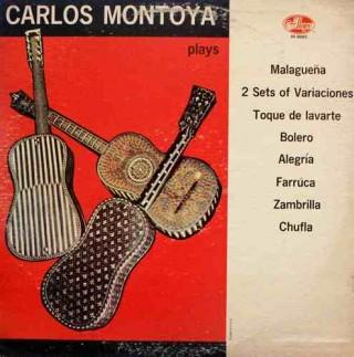 Carlos Montoya – Plays - AR 88063 - LP Record
