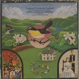 Appalachian Spring - Copland Conducts Copland - M 32736 - LP Record