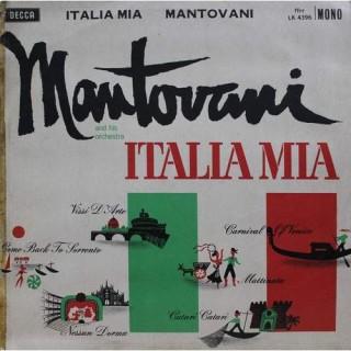 Mantovani And His Orchestra – Italia Mia - LK 4396 - LP Record