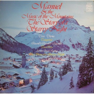 Manuel & His Music Of The Mountains - The Story Of A Starry Night - MFP 50340 - LP Record