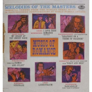Melodies Of The Masters - Volume I: Music Of Romance - P 8563 - LP Record