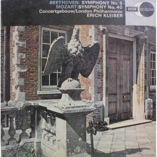 Beethoven - Erich Kleiber - The London Philharmonic Orchestra & Concertgebouw Orchestra Of Amsterdam - ECS 518 - LP Record
