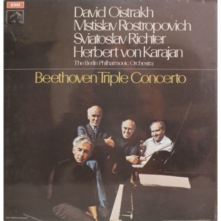Ludwig van Beethoven ‎- Triple Concerto - ASD 2582 - Cover Book Fold - LP Record