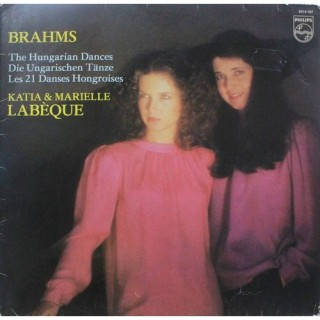 Brahms - Katia & Marielle Labeque - The Hungarian Dances - 6514 107 - LP Record