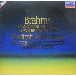 Brahms - Vladimir Ashkenazy • Concertgebouw Orchestra • Bernard Haitink – Piano Concerto No. 1 - Klavierkonzert Nr. 1 SXDL 7552 - LP Record