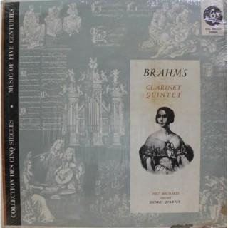 Brahms - Jost Michaels & Endres-Quartett - Clarinet Quintet - STDL 500 560 - Cover Good Condition - LP Record