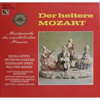 Mozart - Der Heitere Mozart - Meisterwerke Des Musikalischen Humors - 1 C 063-29009 - Cover Book Fold - LP Record
