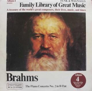 Brahms – The Piano Concerto No. 2 In B Flat - (Album 4) - FW 304 - LP Record
