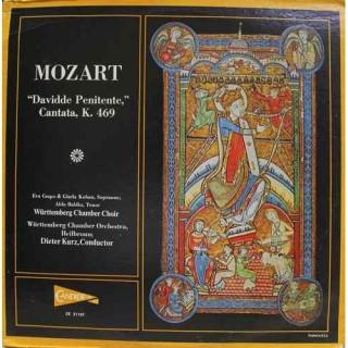 Mozart - Davidde Penitente, Cantata, K. 469 - CE 31107 - LP Record