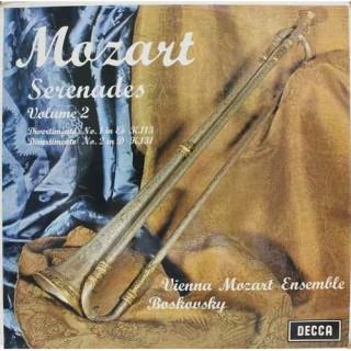 Mozart - Vienna Mozart Ensemble - Boskovsky - Serenades Volume 2 - SXL 6366 - LP Record