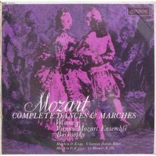 Mozart - Vienna Mozart Ensemble, Boskovsky - Complete Dances & Marches - (Volume 3) - CS 6414 - LP Record