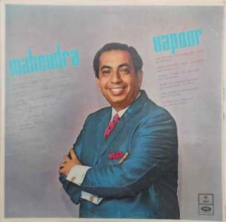 Mahendra Kapoor - MOCE 4018 - Cover Reprinted - LP Record