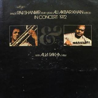 Ravi Shankar & Ali Akbar Khan - In Concert 1972-  SAPDO 1002 - 2LP Record