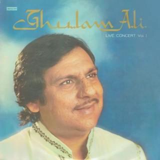 Ghulam Ali Live Concert Vol 1 - ECSD 2894 - LP Record