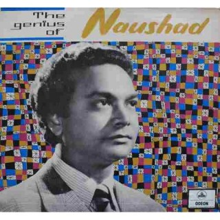 Naushad - The Genius Of Naushad - MOCE 1092 - Odeon First Pressing - LP Record