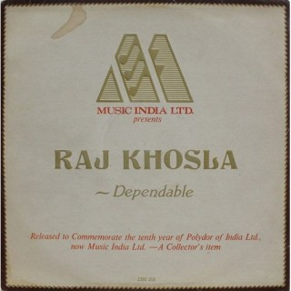 Raj Khosla - Dependable - Ten Years Together - 2392 253 - LP Record